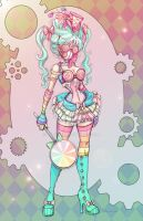 Candypunk Girl by NoFlutter