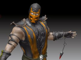 Scorpion - Mortal Kombat by DarkCloudX