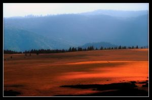 Calimani Mountains Sunglow by Phototubby