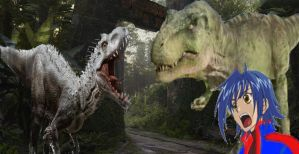 Yukito and Timmy vs Indominus Rex by ltdtaylor1970