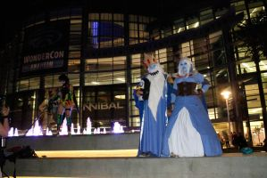 WC13-Ice King and Queen by moonymonster