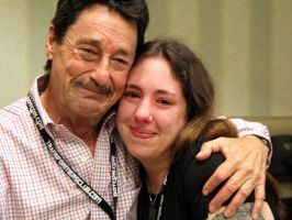 Me and Peter Cullen by LadyElitaOne