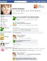 Romeo Montague's Facebook by ttlywinket