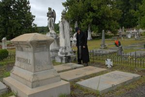 Taylor Jackson Cemetery 41 by LinzStock
