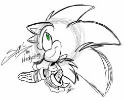 Sonic Boom Doodle by BabyKichy