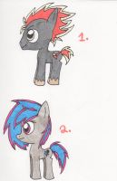 Pony Rockstar Adoptables OPEN (1/2) by Piplup88908
