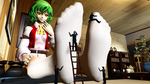 Yuuka's Secret To Foot Care by simsda