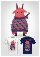 Cute Monster Tee 02 by dIeGoHc