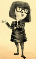 Edna Mode by whoslepe