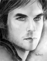 Ian Somerhalder by BlueZest