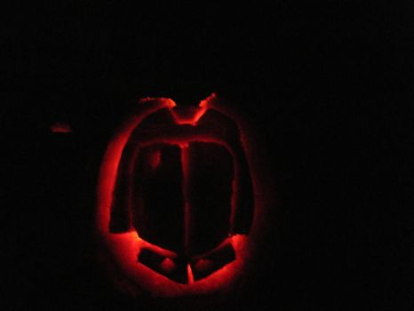 Cobra Commander Pumpkin by skinnyjoefan