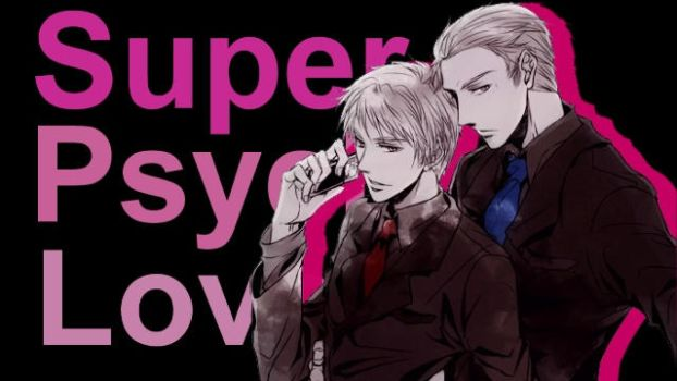 Prussia+Germany - Super Psycho Love by CrimsonEyes109