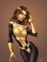 Kitty Pryde Pinup by DStPierre