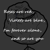 Forever alone by My13Memories