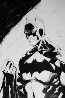 Batman Commission Inked by dareith
