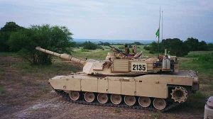 M1A2 - Side View, Passing By by RBL-M1A2Tanker
