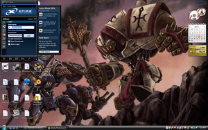 Warmachine Desktop by chaoman