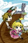 Skyward Sword as Wind Waker by Ranefea
