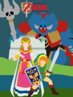 Link to the Past Minimalist Poster by DoodledorkArt