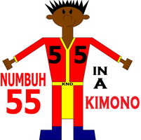 NUMBUH 55 In a Kimono by Flame-dragon