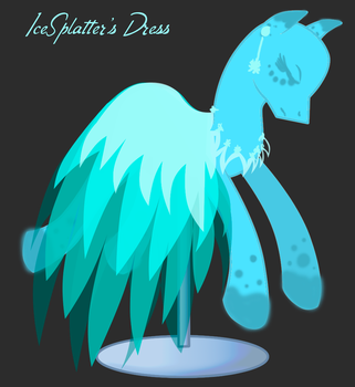 PC IceSpatters dress by Lost-in-Equestria