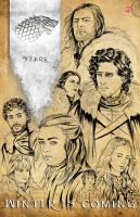 Game of Thrones - House Stark by TyrineCarver