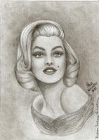 Marilyn Monroe by RraFratea