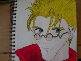 Vash in color by vashygirl