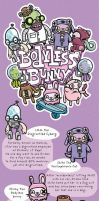 Bodyless Bunny and Co. by cronobreaker