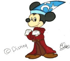 Mickey Mouse- Sorcerer's Apprentice by Project-GAME