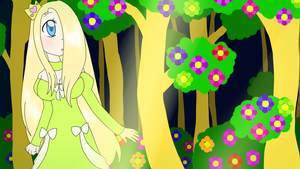 Key Lime Princess in the Forest by Moniquekat