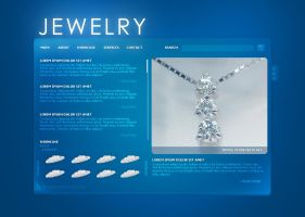 Jewelry Website by Solaris07