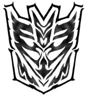 Tribal Decepticon Symbol by Blitzkrieg1210