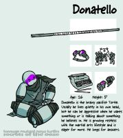 Secrets Of The Ooze: Donatello by mooncalfe