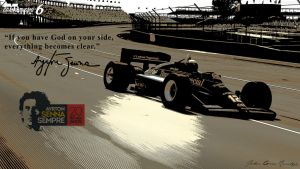 Ayrton Senna Sempre tribute (Lotus 97T) pic 2 by girabyte225-jc-lover