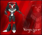 OC : Voyager by WolfCreeker