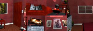 Bedroom Final Collage by ProjectDarkling