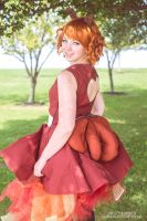 Vulpix Gijinka by XenPhotos
