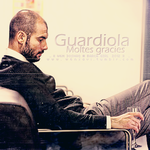 Moltes gracies .. Guardiola by w6n3oshaq