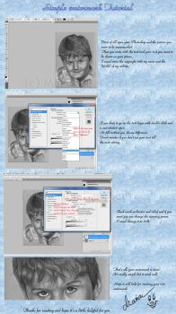 Simple watermark tutorial by WitchiArt