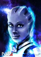 Liara T'soni by Jaybirdy