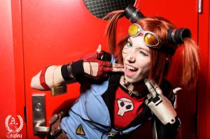 Gaige the Mechromancer by Viverra1