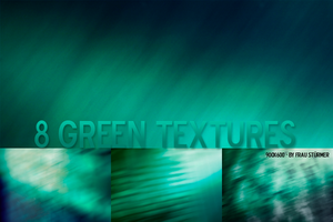 8 Green textures by fraustuermer