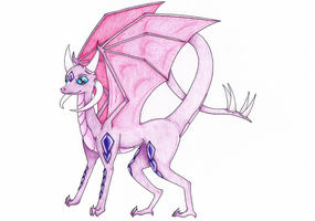 Lucida the Dragoness by LuciaSeriin