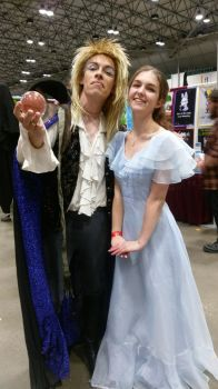 Wendy and Jareth  by Labyrinth-Queen