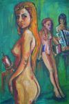 Muses: Clio, Calliope and Erato by Kennyfiddler