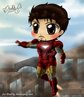 Chibi Iron Man - Tony Stark by Isi-Daddy