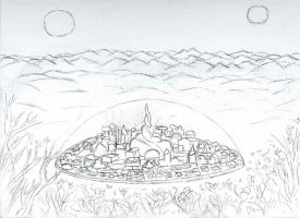 Gallifrey Sketch by Imalshen