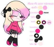 ~Nicole Pie Color Reference by Nini-the-kitty