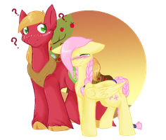 +MLP:DB - FlutterMac - Can't find the way..+ by Flow3r-child